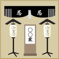 自宅用玄関飾り(大)